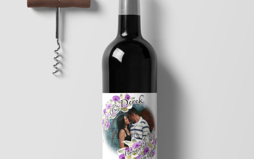 Wedding – Wine Label