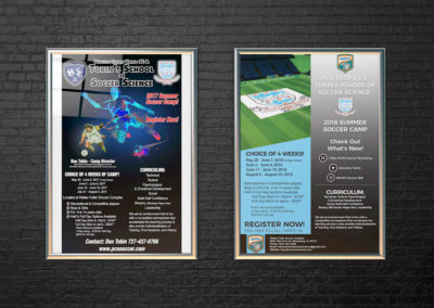 Soccer Camp Poster – Print Design