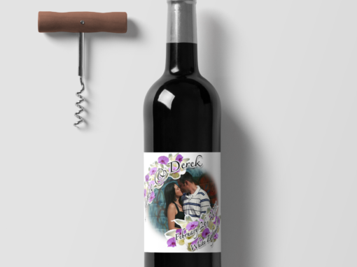 Wedding – Wine Label