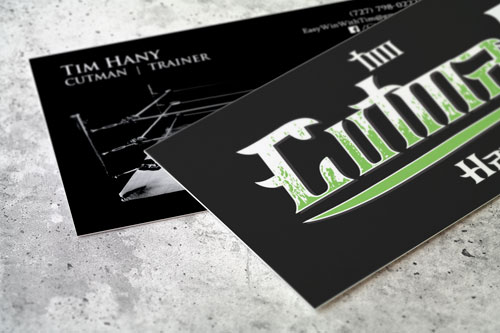Cutman Tim – Business Cards