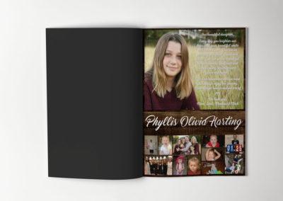 Senior Yearbook Ad – Print Design