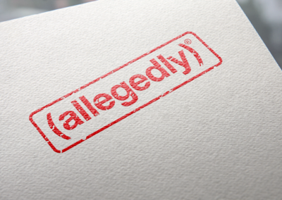 allegedly – Logo Design