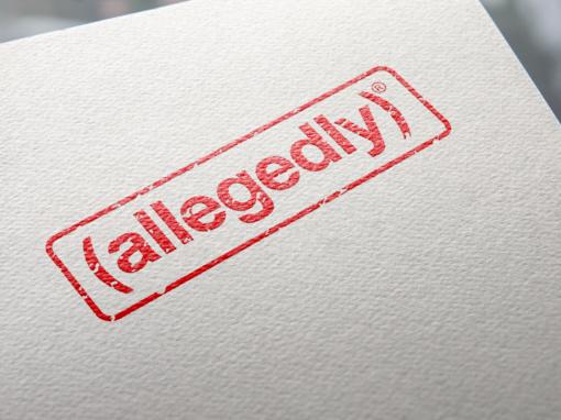 allegedly – Logo Design