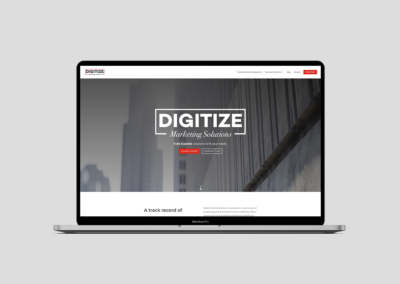 Digitize Marketing Solutions – Web Design