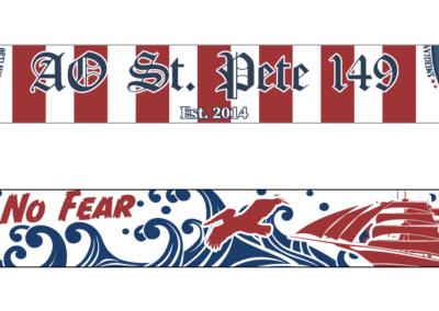 AO St. Pete Scarf- Print Design